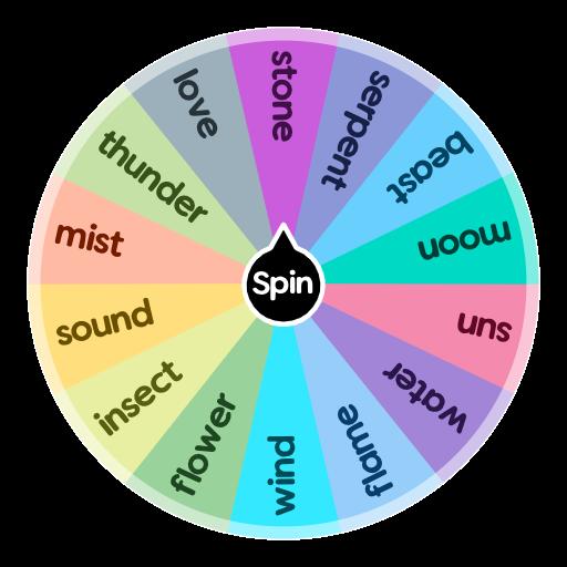 Breathing Styles Demon Slayer Oc Spin The Wheel App