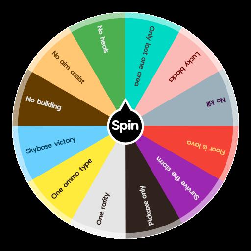 Fortnite Challenge Wheel | Spin The Wheel App