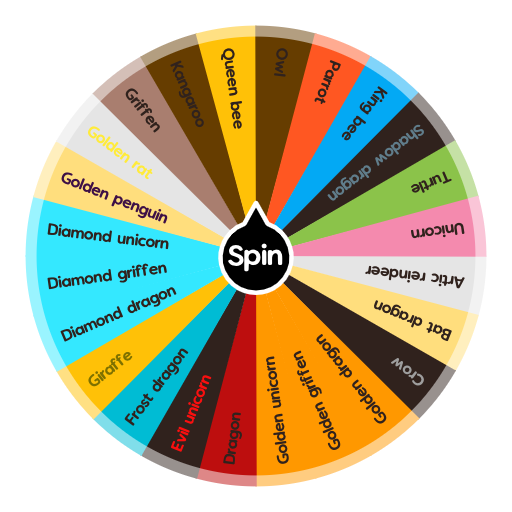 Legendary Adopt Me Pets Spin The Wheel App