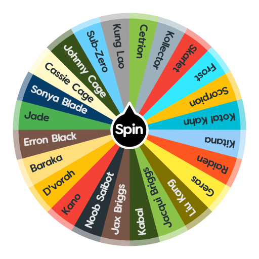 Mortal Kombat 11   Spin The Wheel App