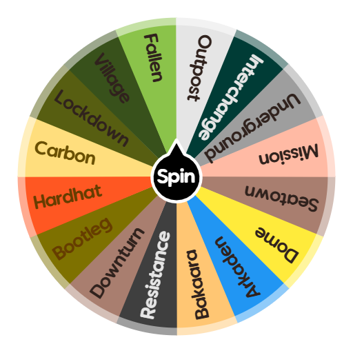 MW3 Multiplayer Maps | Spin The Wheel App