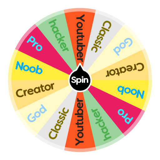 What Roblox Character Are You Spin The Wheel App