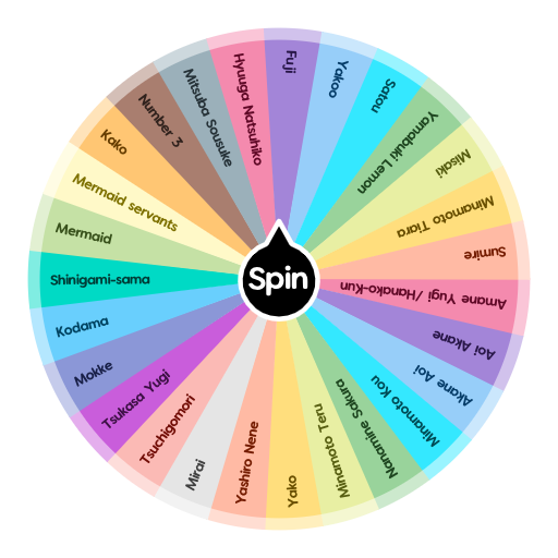 What Tbhk Toilet Bound Hanako Kun Characters Are You Spin The Wheel App